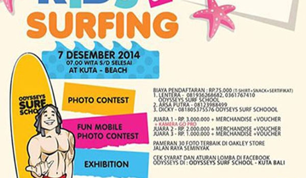 Kids & Surfing Photo Contest with Odysseys Surf School